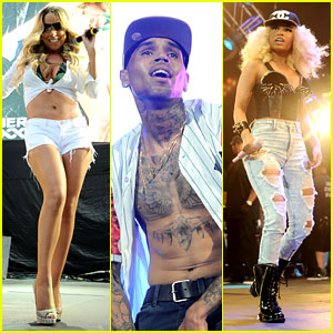 WATCH: Hot 97's Summer Jam: Miguel, Chris Brown, Nicki Minaj, Mariah Carey and More Hit the Stage!