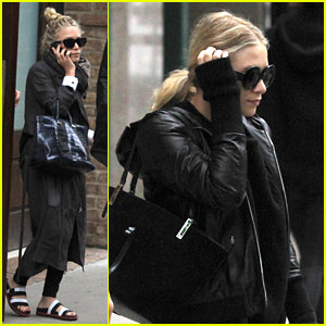 Mary-Kate & Ashley Olsen Step Out on 27th Birthday!