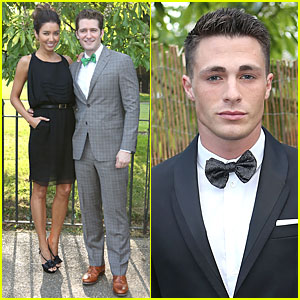 Matthew Morrison & Colton Haynes: Serpentine Gallery Summer Party!