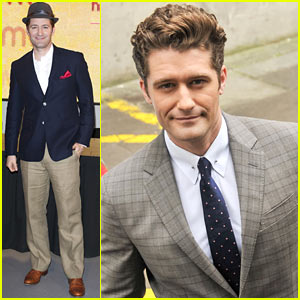 Matthew Morrison: 'Where it All Began' Promotion in London!