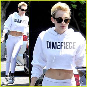 Miley Cyrus: Dimepiece Studio Stop!