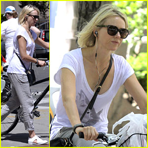 Naomi Watts Rides Bike After 'Diana' Trailer's Positive Reviews
