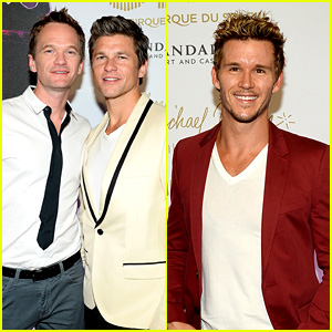 Photo of Ryan Kwanten & his friend actor  Neil Patrick Harris -