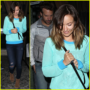 Olivia Wilde & Jason Sudeikis: Red O Twosome!