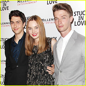 Patrick Schwarzenegger: 'Stuck in Love' NYC Screening!