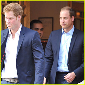 Prince William & Harry: Prince Phillip Hospital Visit!