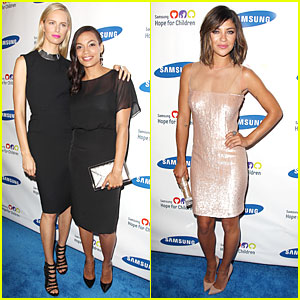 Rosario Dawson & Jessica Szohr: Hope for Children Gala!