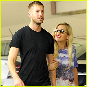 Calvin Harris with beautiful, Girlfriend Rita Ora