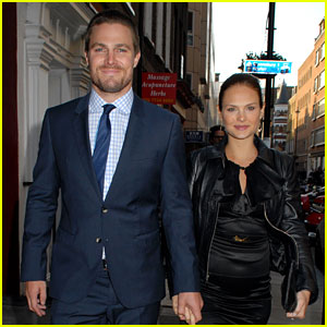 Stephen Amell & Cassandra Jean Expecting First Child (Exclusive)