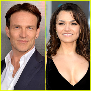 Stephen Moyer & Samantha Barks: 'Chicago the Musical' Stars!