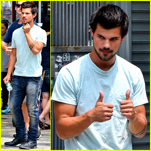 Taylor Lautner: 'Tracers' Fight Scenes!