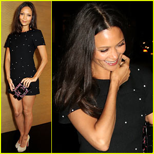 Thandie Newton: Chanel Flagship Boutique Private Viewing!