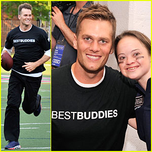 Tom Brady Supports Best Buddies!