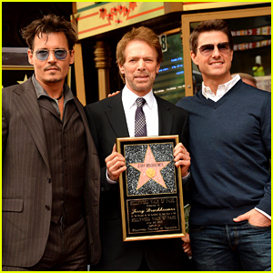 Tom Cruise & Johnny Depp: Jerry Bruckheimer Star Ceremony!