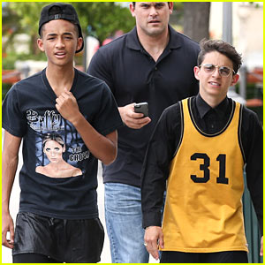 Will & Jaden Smith Share Big Kiss on TV