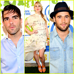 Zachary Quinto & Josh Bowman: Coach's Summer Party!