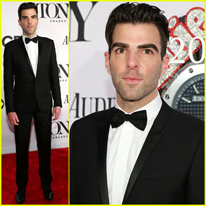Zachary Quinto - Tony Awards 2013 Red Carpet