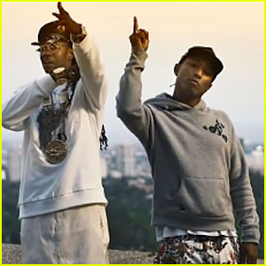 2 Chainz & Pharrell Williams: 'Feds Watching' Music Video - Watch Now!