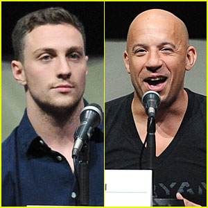 Aaron Taylor-Johnson & Vin Diesel: 'Kick-Ass 2' & 'Riddick' at Comic-Con!