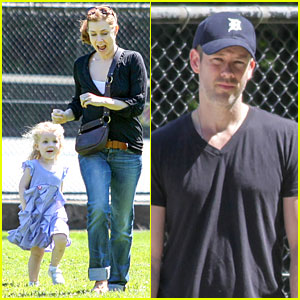 Amy Adams & Darren Le Gallo: Park Date with Aviana!