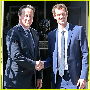 Andy Murray Meets David Cameron After Wimbledon Win!