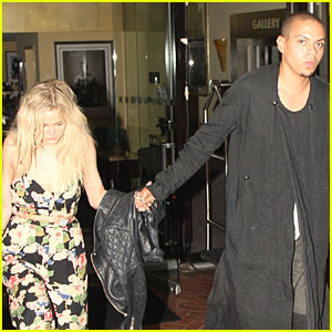 Ashlee Simpson & Evan Ross: New Couple Alert?