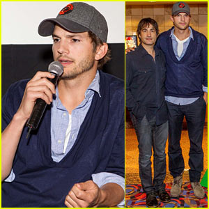 Ashton Kutcher: 'Jobs' Q&A with Director Joshua Michael Stern!