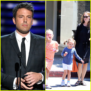 Ben Affleck Presents at ESPYs, Jennifer Garner Grabs Ice Cream