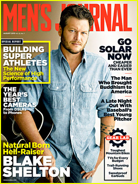 Blake Shelton Covers 'Men's Journal' August 2013