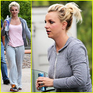Britney Spears: Dance Rehearsal Before the Weekend!