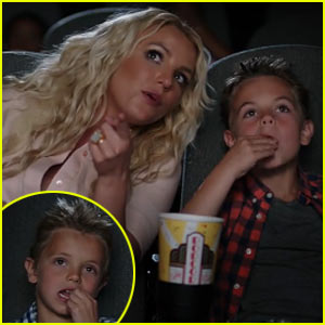 Britney Spears' 'Ooh La La' Video with Sean Preston & Jayden James!