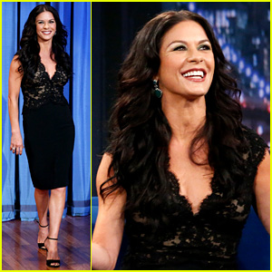 Catherine Zeta-Jones: 'Late Night with Jimmy Fallon' Appearance