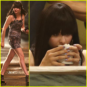 Chloe Moretz Struts Her Stuff on 'Equalizer' Set