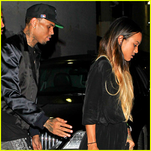 Chris Brown & Karrueche Tran - BET Awards 2013 After Party
