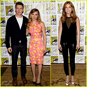 Chris Evans & Scarlett Johansson: 'Captain America' at Comic-Con!