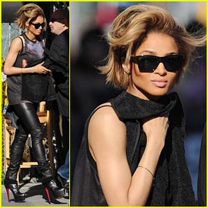 Ciara: 'Jimmy Kimmel Live' Performances - Watch Now!