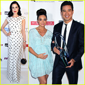 Dita Von Teese & Mario Lopez: North American Hairstyling Awards 2013