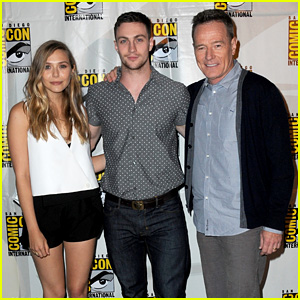 Elizabeth Olsen & Aaron Taylor-Johnson: 'Godzilla' at Comic-Con