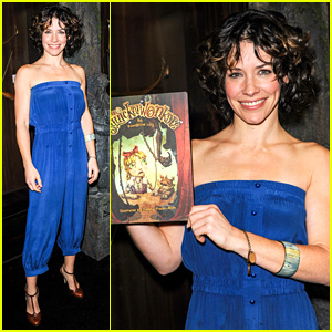 Evangeline Lilly Debuts New Children's Book at Comic-Con