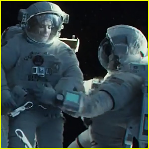 George Clooney & Sandra Bullock: New 'Gravity' Trailer - Watch Now!