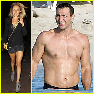 Hayden Panettiere: AV Nightclub Sans Shirtless Wladimir Klitschko