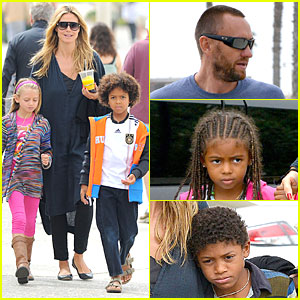 Heidi Klum & Martin Kirsten: Venice Beach Bonding After NYC Departure!