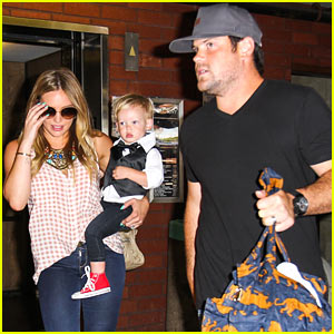 Hilary Duff: Luca Graduates Babies First Class!
