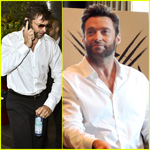 Hugh Jackman: 'The Wolverine' Press Conference in NYC!