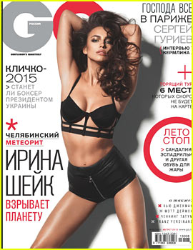 Irina Shayk Covers 'GQ Russia' - Exclusive!
