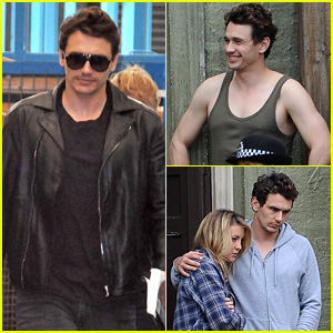 James Franco Shows Off Arms in Tank Top for 'Good People'