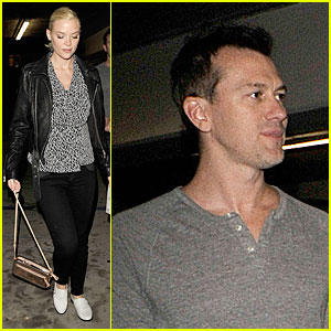 Jaime King & Kyle Newman: 'Kick-Ass 2' Movie Date!