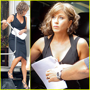 Jennifer Aniston: 'Squirrels to the Nuts' Set with Owen Wilson!