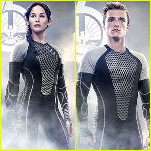 Jennifer Lawrence & Josh Hutcherson: New 'Catching Fire' Posters!