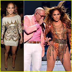 Jennifer Lopez Wins & Performs at Pre